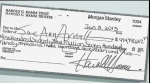 $947 Million Dollar Check