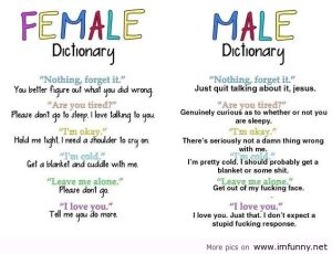 Famale-and-Male-Dictionary