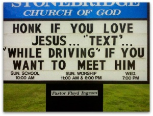 text while driving
