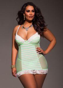 lingerie green