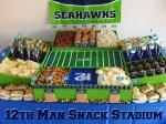 Snack Stadium Ideas for Football Parties