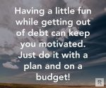 Staying on a budget can be hard, but…