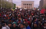 10,000 Strong Peacefully Protest In Downtown Baltimore, Media Only Reports The Violence & Arrest of Dozens